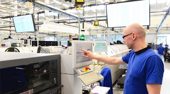 Maschinenbruchversicherung Produktionsbetrieb Maschinenpark