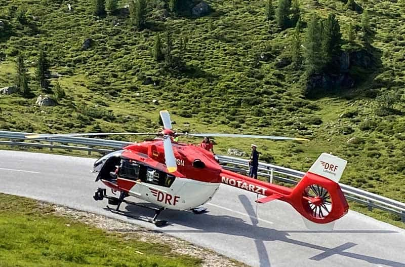 Hubschrauberbergung Wandern Unfallversicherung Bergungskosten