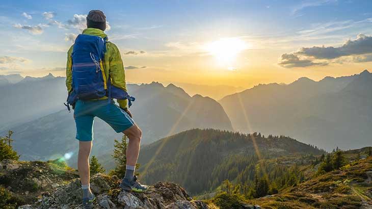 Gut versichert beim Wandern und Bergsteigen Unfall Unfallversicherung Bergekosten
